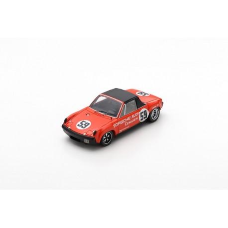 SPARK US081 PORSCHE 914/6 GT N°59 Vainqueur V.I.R IMSA 1971 P. Gregg - H. Haywood (300ex.)