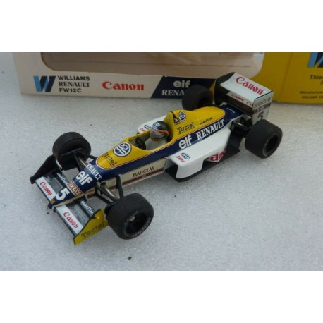 ONYX 025 WILLIAMS F1 RENAULT FW12C THIERRY BOUTSEN N°5 1.43
