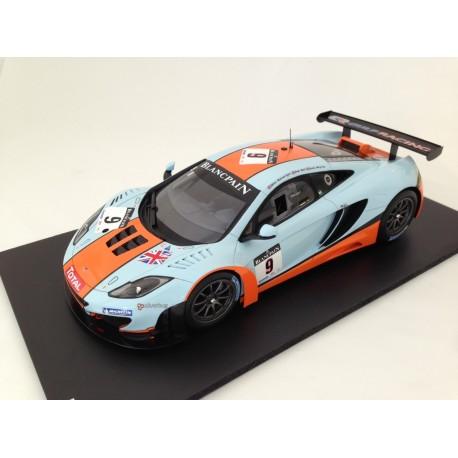 TRUESCALE TSM131814R McLaren MP4-12C GT3 #9 2012 Spa 24Hr,