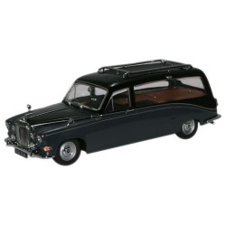 OXFORD DS008 DAIMLER DS420 CORBILLARD 68 BLACK GREY 1.43