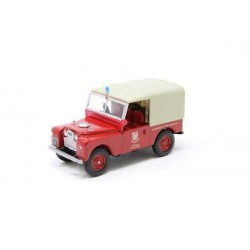OXFORD LAN188011 LAND ROVER 88 POMPIERS ANGLAIS 1.43