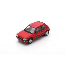 MILEZIM Z0097 PEUGEOT 205 GTI 1.9 Rouge 1987