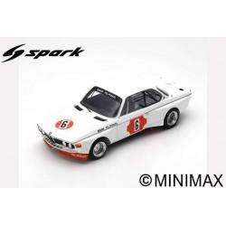 SPARK 18S414 BMW 3.0 CSL N°6 Vainqueur 4H Monza 1973 N. Lauda - B. Muir