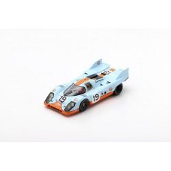 SPARK S0916 PORSCHE 917 K N°19 2ème 24H Le Mans 1971-R. Attwood - H. Müller