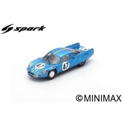 SPARK S5476 ALPINE A210 N°47 24H Le Mans 1966-P. Toivonen – B. Jansson