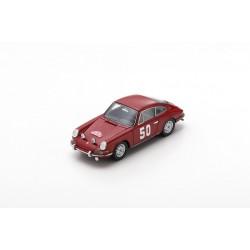 SPARK S6604 PORSCHE 911 N°50 Rallye Monte Carlo 1966- H. Perrier - P. du Pasquier