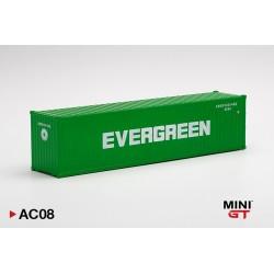 "MINIGT AC08 Container 40' ""EVERGREEN"" (1/64)"