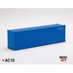 """MINIGT AC10 Container 40' BLEU"""" (1/64)"""