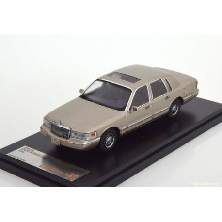 PREMIUMX PRD102 LINCOLN TOWN CAR 1996 CHAMPAGNE 1.43