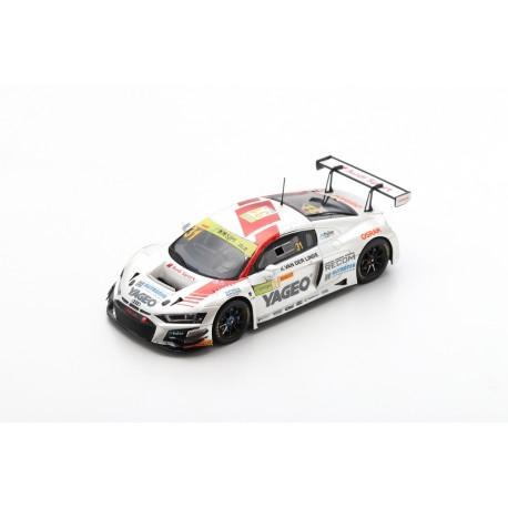 SPARK SA218 AUDI R8 LMS N°31 Audi Sport Team Rutronik FIA GT World Cup Macau 2019 Kelvin van der Linde (300ex)