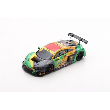 SPARK SA221 AUDI R8 LMS N°66 Audi Sport Asia Team TSRT FIA GT World Cup Macau 2019 Weian Chen (300ex)