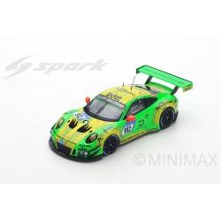 SPARK SG400S PORSCHE 911 GT3 R N°912 1er 24H Nürburgring 2018 Lietz-Pilet-Makowiecki-Tandy