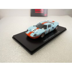 HACHETTE HACHLM04 FORD GT40 1968 1/43 Le Mans Collection