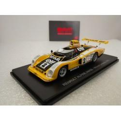 HACHETTE HACHLM08 RENAULT ALPINE A442B 1978 1/43 Le Mans