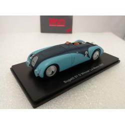 HACHETTE HACHLMGIFTA BUGATTI 57G 1937 1/43 Le Mans Collection