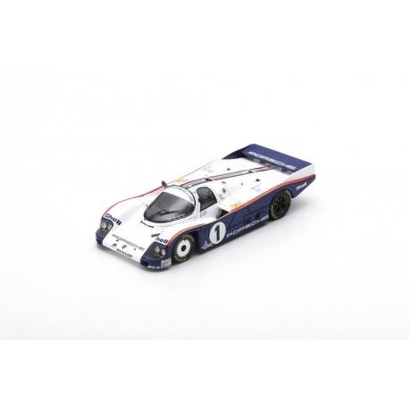 SPARK S4086 PORSCHE 962C N°1 24H Le Mans 1985 - J. Ickx - J. Mass - D. Bell