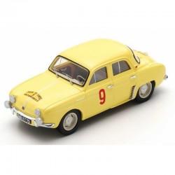 SPARK S5208 RENAULT Dauphine N°9 Vainqueur Tour de Corse 1956 - Miss G. Thirion - N. Ferrier