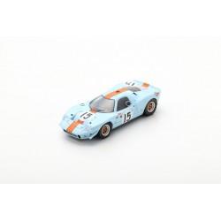 SPARK S7462 MIRAGE M1 N°15 24H Le Mans 1967 - J. Ickx - B. Muir