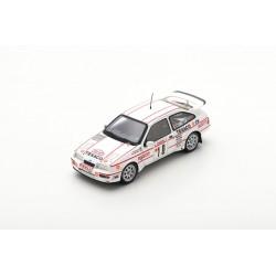 SPARK S8700 FORD Sierra RS Cosworth N°10 Rallye Monte-Carlo 1987 - K. Grundel - T. Harryman