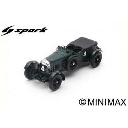 SPARK 18LM30 BENTLEY Speed Six N°4 Vainqueur 24H Le Mans 1930 - W. Barnato - G. Kidston