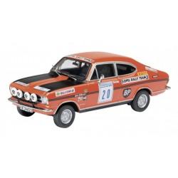 SCHUCO 03546 OPEL KADETT RAC RALLY 1969 No20 ERIKSSON 1.43
