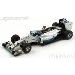 SPARK 18S141 MERCEDES F1 W05 N°6 1er GP F1 Monaco 201
