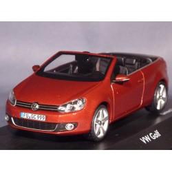 SCHUCO 07466 VW GOLF CABRIOLET ROUGE 1.43