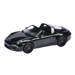 SCHUCO 07597 PORSCHE 911 TARGA 4 GTS NOIR 2015 1.43