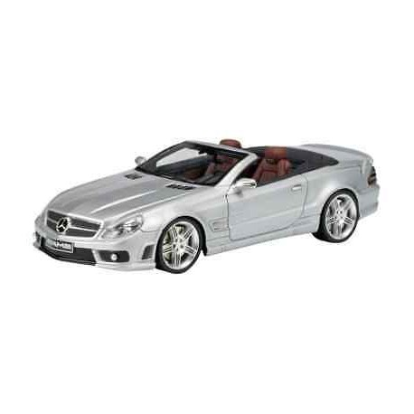 ABSOLUTEHOT 08511 MERCEDES SL65 AMG SILVER 1.43