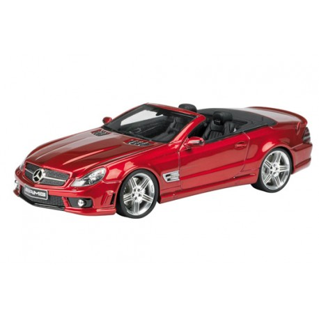 ABSOLUTEHOT 08512 MERCEDES SL65 AMG ROUGE METAL 1.43