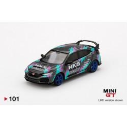MINI GT MGT00101 HONDA Civic Type R HKS 2018 Time Attack