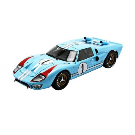 SHELBY COLLECTIBLES SHELBY411 FORD GT40 MKII N°1 LM 1966 1.18