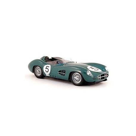 SHELBY COLLECTIBLES 59AM01 ASTON MARTIN LM59 N°5 VAINQUEUR LE MANS 1959 1.18