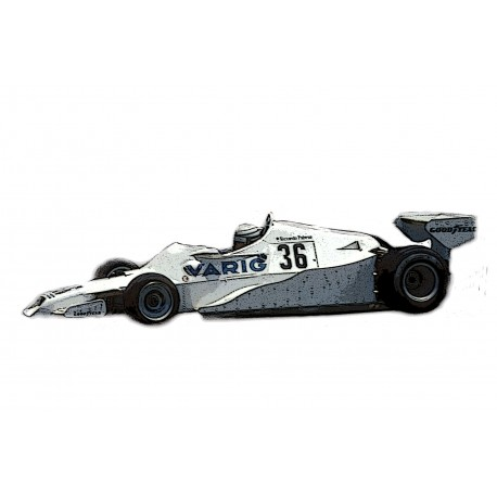 TAMEO SLK120 Arrows Ford FA1 Varig 1.43