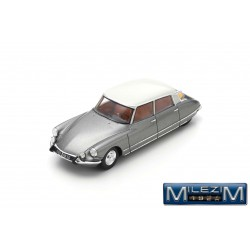 MILEZIM Z0105 CITROËN DS21 Pallas 1967 Grey Palladium