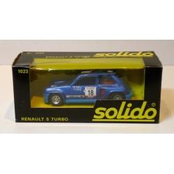 SOLIDO 1023 RENAULT 5 TURBO TOUR DE CORSE 1980 1.43