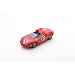 LOOKSMART LS18LM10 FERRARI 275P Vainqueur 24H le Mans 1964 (1/18)