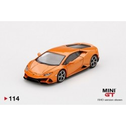 MINI GT 00114 LAMBORGHINI Huracan EVO Arancio Borealis