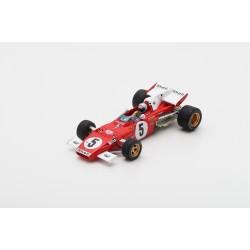 LOOKSMART LSRC028 FERRARI 312 B2 N°5 4ème GP Allemagne 1971-Mario Andretti