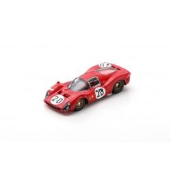 LOOKSMART LSLM102 FERRARI 330 P3 N°20 24H Le Mans 1966 L. Scarfiotti - M. Parkes
