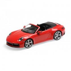 MINICHAMPS 155067331 PORSCHE 911 CABRIOLET ROUGE