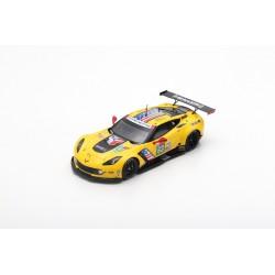 SPARK S7928 CHEVROLET Corvette C7.R N°63 Corvette Racing 24H Le Mans 2019 J. Magnussen - A. García - M. Rockenfeller 1,43