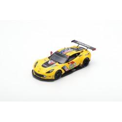 SPARK S7929 CHEVROLET Corvette C7.R N°64 Corvette Racing 24H Le Mans 2019 O. Gavin - T. Milner - M. Fässler 1,43