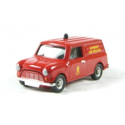 CORGI DG215001 AUSTIN MINI VAN SOMERSET FIRE & RESCUE 1.76