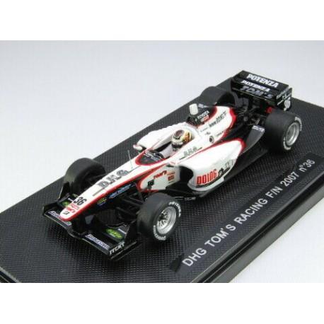 EBBRO 43945 DHG TOM'S RACING F/N 2007 #36 1.43