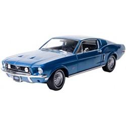 GREENLIGHT 12820 FORD MUSTANG GT 2+2 FASTBACK 1968 1.18