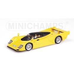 MINICHAMPS 430064001 PORSCHE 962 DAUER 1993 YELLOW 1.43