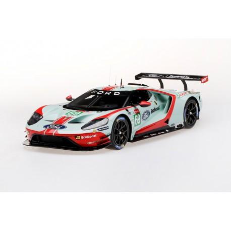 TOP SPEED TS0282 FORD GT N°69 Ford Chip Ganassi Team USA 24ème 24H Le Mans 2019 -R. Briscoe - R. Westbrook - S. Dixon