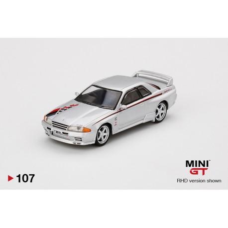 MINI GT MGT00107-R NISSAN GT-R R32 Nismo S-Tune Silver