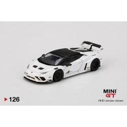 MINI GT MGT00126-L LAMBORGHINI Huracán GT LB2/3WORKS White